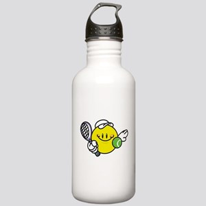 Smile Face Tennis Stainless Water Bottle 1.0L