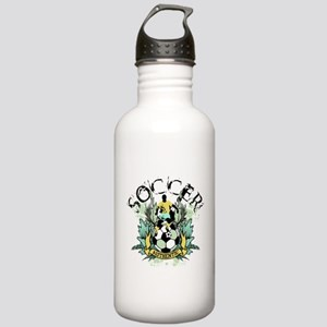 Authentic Soccer Stainless Water Bottle 1.0L