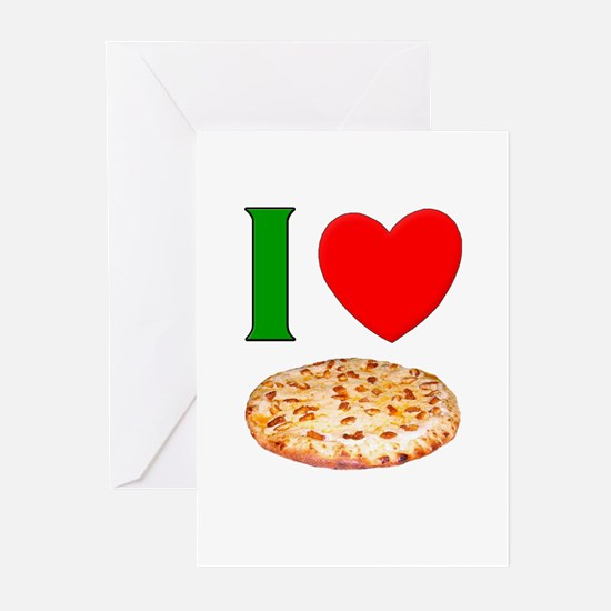 I Love Pizza Greeting Cards (Pk of 10)