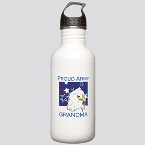 Proud Army Grandma Stainless Water Bottle 1.0L