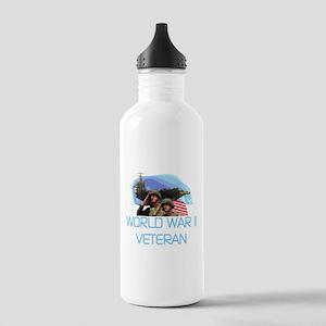 World War II Veteran Stainless Water Bottle 1.0L