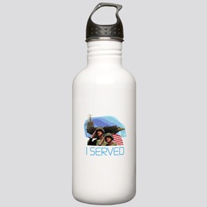 Military I Served Stainless Water Bottle 1.0L