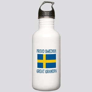 Swedish Great Grandpa Stainless Water Bottle 1.0L