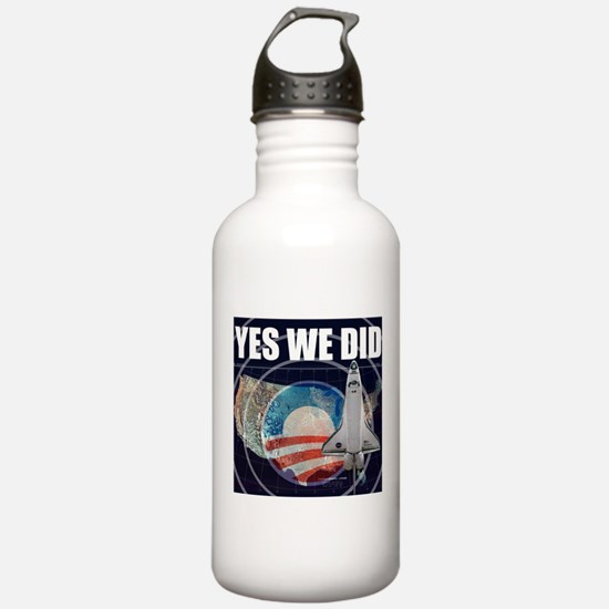 Yes We Did Global Water Bottle