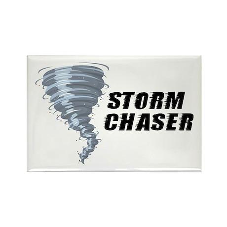 Storm Chaser Rectangle Magnet