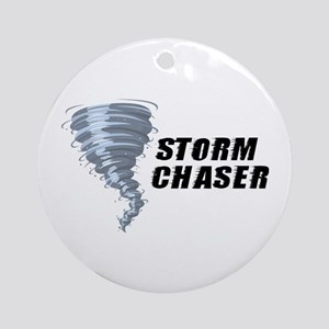 Storm Chaser Ornament (Round)