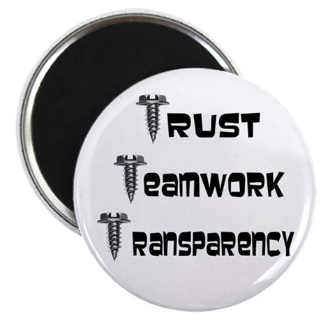 Trust and Teamwork Magnet