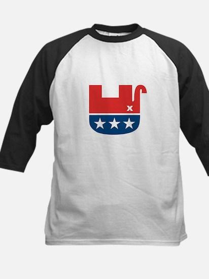 Dead Republican Elelphant Kids Baseball Jersey