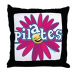 Pilates Flower by Svelte.biz Throw Pillow
