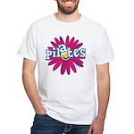 Pilates Flower by Svelte.biz White T-Shirt