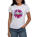 Pilates Flower by Svelte.biz Women's T-Shirt