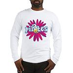 Pilates Flower by Svelte.biz Long Sleeve T-Shirt