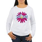Pilates Flower by Svelte.biz Women's Long Sleeve T