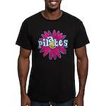 Pilates Flower by Svelte.biz Men's Fitted T-Shirt