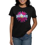 Pilates Flower by Svelte.biz Women's Dark T-Shirt