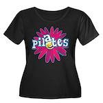 Pilates Flower by Svelte.biz Women's Plus Size Sco