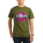 Pilates Flower by Svelte.biz Organic Men's T-Shirt
