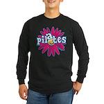 Pilates Flower by Svelte.biz Long Sleeve Dark T-Sh
