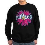 Pilates Flower by Svelte.biz Sweatshirt (dark)