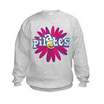 Pilates Flower by Svelte.biz Kids Sweatshirt