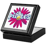 Pilates Flower by Svelte.biz Keepsake Box