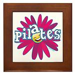Pilates Flower by Svelte.biz Framed Tile