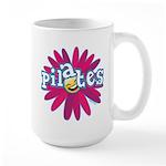 Pilates Flower by Svelte.biz Large Mug