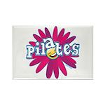 Pilates Flower by Svelte.biz Rectangle Magnet (10