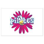 Pilates Flower by Svelte.biz Large Poster