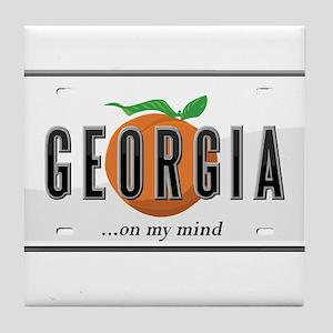 Georgia Tile Coaster