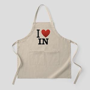 I Love Indiana Apron