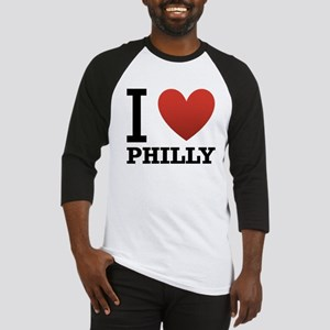 I Love Philly Baseball Jersey
