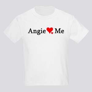 Angie Loves Me Kids T-Shirt