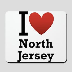 I <3 North Jersey Mousepad
