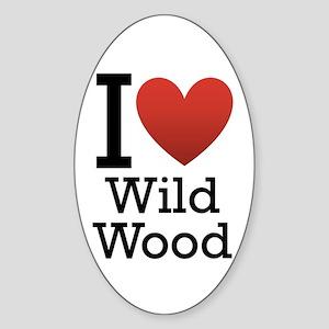 Wildwood Sticker (Oval)