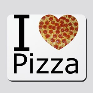 I Heart Pizza Mousepad