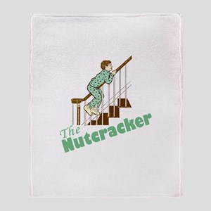 The Real Nutcracker Throw Blanket