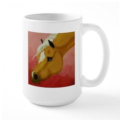Colorful Horse Large Mug