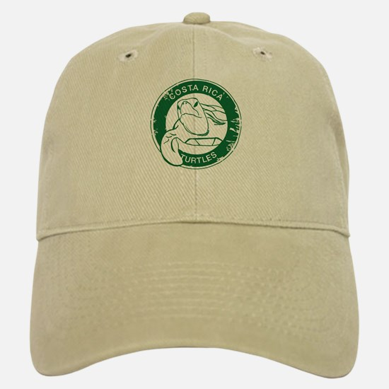 Costa Rica Turtles Baseball Baseball Cap