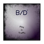 """B/D2 """"Play In Traffic"""" Tile Coaster"""