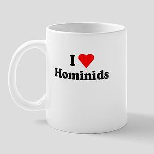 I heart Hominids Mug