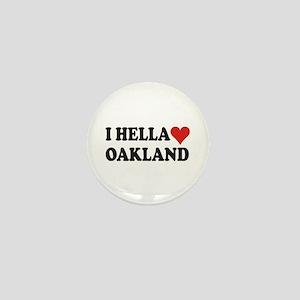 I Hella (Heart) Oakland Mini Button