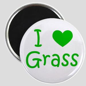 I Heart Grass Magnet