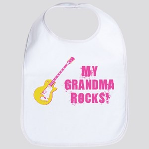 Rock On! Grandma Bib