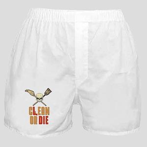 Clean Or Die Boxer Shorts