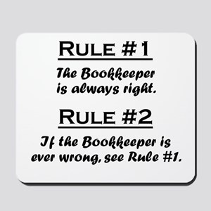 Bookkeeper Mousepad