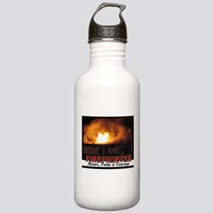 Firefighter Honor, Pride, Courage Stainless Water