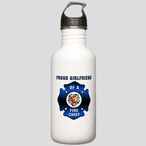 Fire Chief Proud Girlf Stainless Water Bottle 1.0L