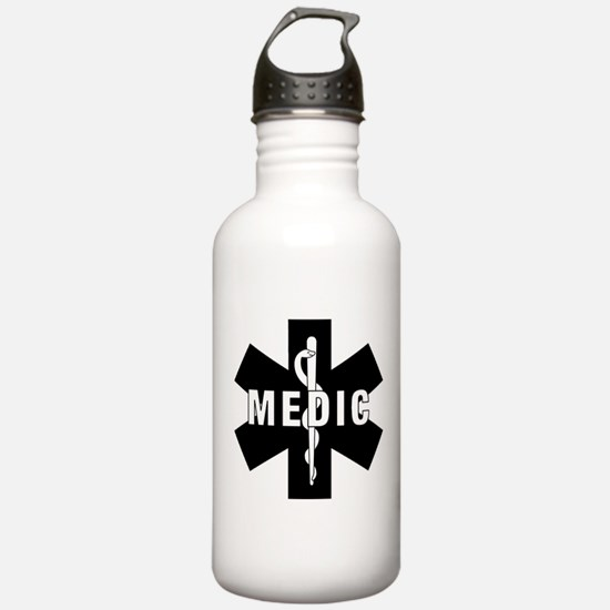 Medic EMS Star Of Life Water Bottle