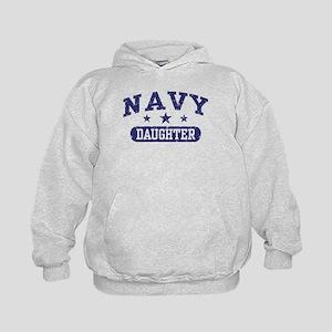 Navy Daughter Kids Hoodie